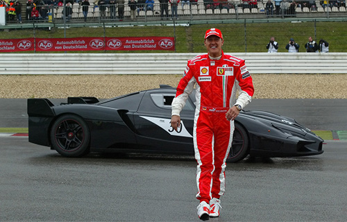 2008 Ferrari FXX Racing Michael Schumacher
